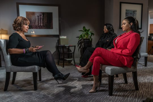 Gayle King, Azriel Clary and Joycelyn Savage on 'CBS This Morning.'