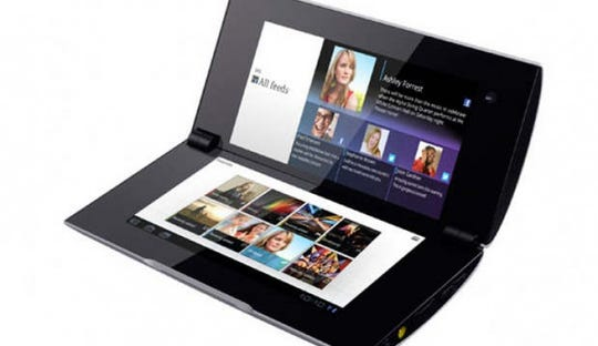 Sony Tablet P, from 2012