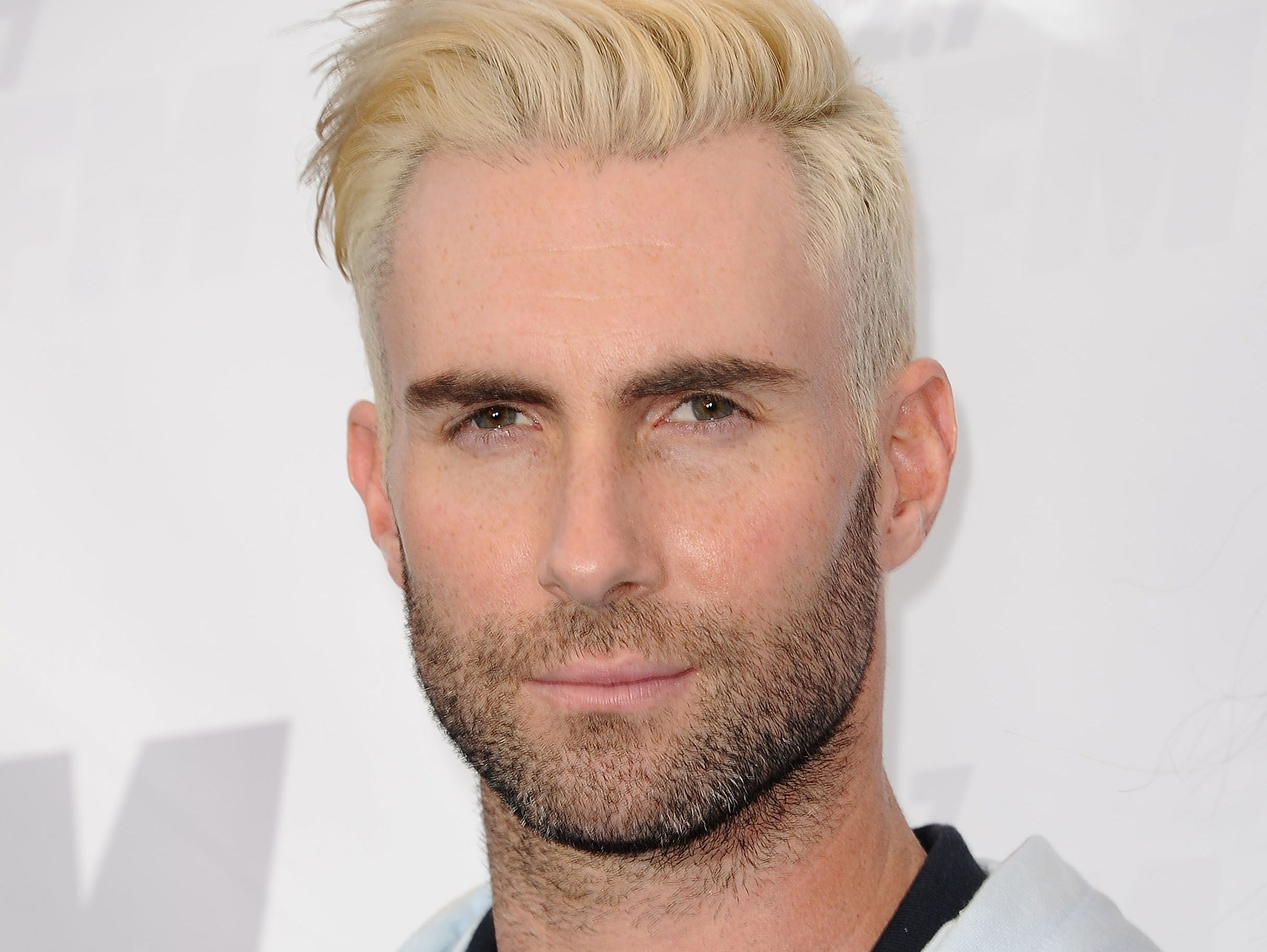 LOS ANGELES, CA - MAY 10:  Adam Levine of Maroon 5 attends 102.7 KIIS FM's 2014 Wango Tango at StubHub Center on May 10, 2014 in Los Angeles, California.  (Photo by Jason LaVeris/FilmMagic) ORG XMIT: 489380659 ORIG FILE ID: 489445683