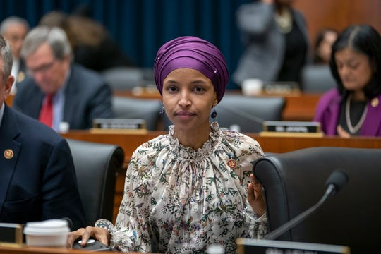 Rep. Ilhan Omar, D-Minn., on Capitol Hill on March 6, 2019.