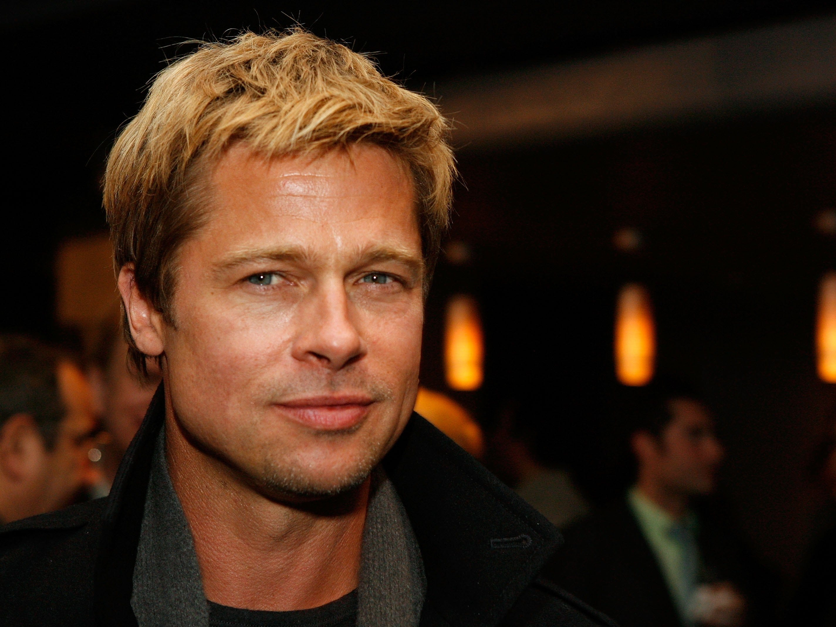 "WEST HOLLYWOOD, CA - JANUARY 08:  Executive producer Brad Pitt poses at the after party at Newmarket Films premiere of ""God Grew Tired of Us"" at the Pacific Design Center on January 8, 2007 in West Hollywood, California.  (Photo by Kevin Winter/Getty Images) *** Local Caption *** Brad Pitt ORG XMIT: 72936363 GTY ID: 36363CA003_Newmarket_Fil"