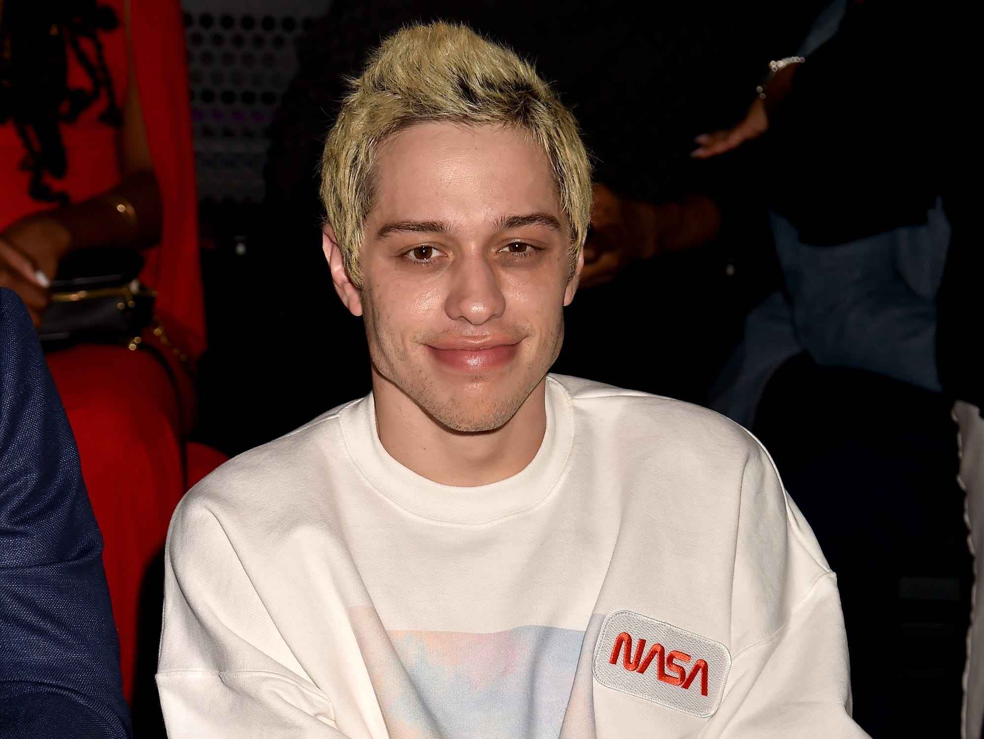 NEW YORK, NY - AUGUST 20:  Pete Davidson attends the 2018 MTV Video Music Awards at Radio City Music Hall on August 20, 2018 in New York City.  (Photo by Jeff Kravitz/FilmMagic) ORG XMIT: 775211586 ORIG FILE ID: 1020372450