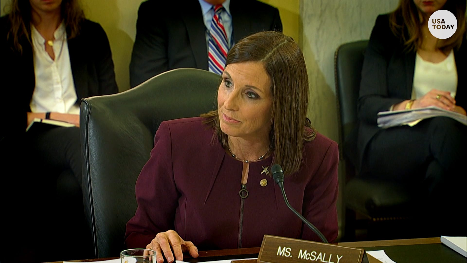Sen  McSally reveals Air Force rape, 'felt powerless'