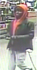 Seattle police are looking for this man, who they say stole more than $600 from a Girl Scout cookie stand on Sunday night.