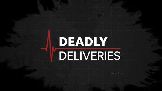 Deadly Deliveries logo