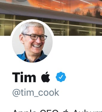 Tim Cook changes his name to 'Tim Apple' on Twitter after Trump called him the wrong name