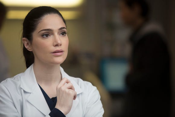 "Janet Montgomery, who plays Dr. Lauren Bloom on NBC's ""New Amsterdam,"" has a new appreciation for real-life doctors after undergoing an emergency C-section with her first child."