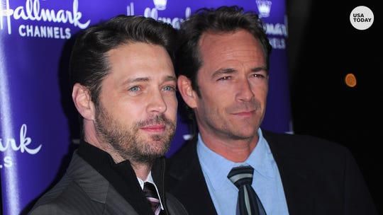 '90210' cast reunited to mourn Luke Perry, Brian Austin Green reveals