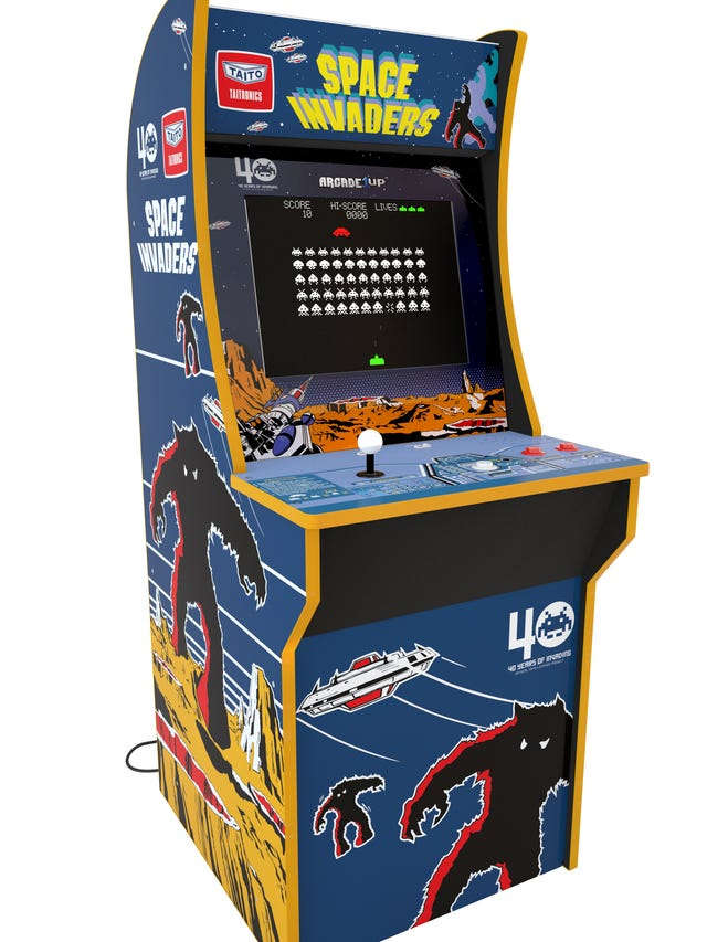 Pac-Man,' 'Space Invaders' and other retro video games get