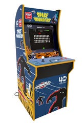 Arcade1Up cabinets are three-quarter-sized replicas of the original coin-operated arcade games.