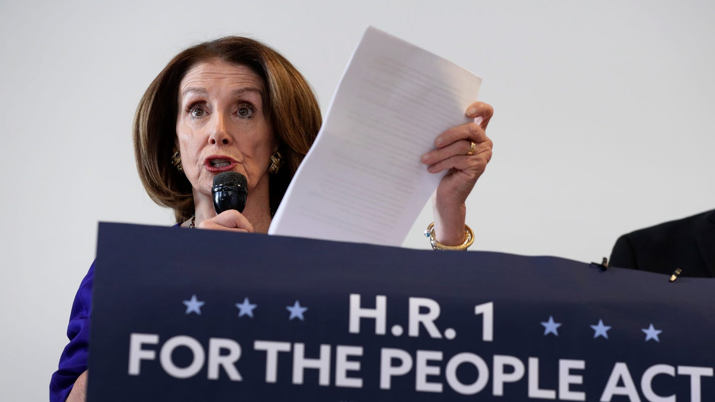 Congress Eyes Changes To Able Act >> H R 1 Voting Rights And Congressional Reform Bill Passes House