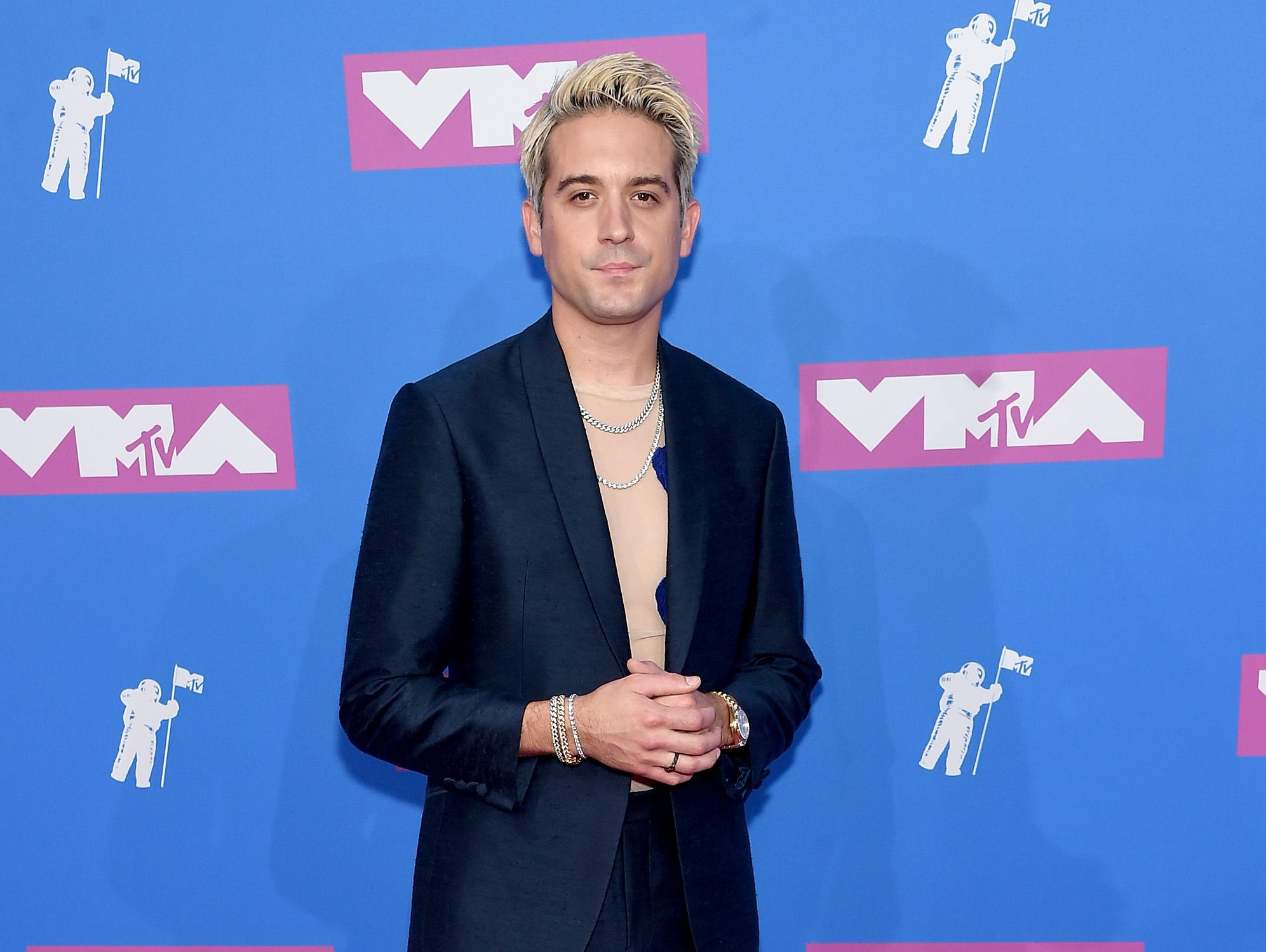 NEW YORK, NY - AUGUST 20:  G-Eazy attends the 2018 MTV Video Music Awards at Radio City Music Hall on August 20, 2018 in New York City.  (Photo by Jamie McCarthy/Getty Images) ORG XMIT: 775210277 ORIG FILE ID: 1020265584