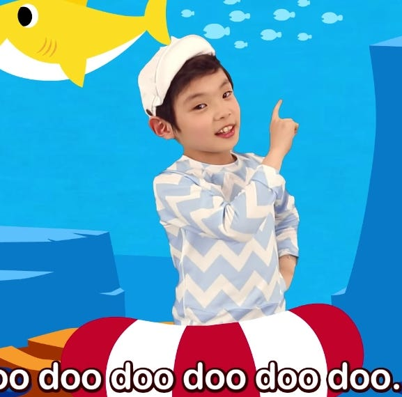 """Baby Shark"" lays down an inspiring beat to learn CPR."