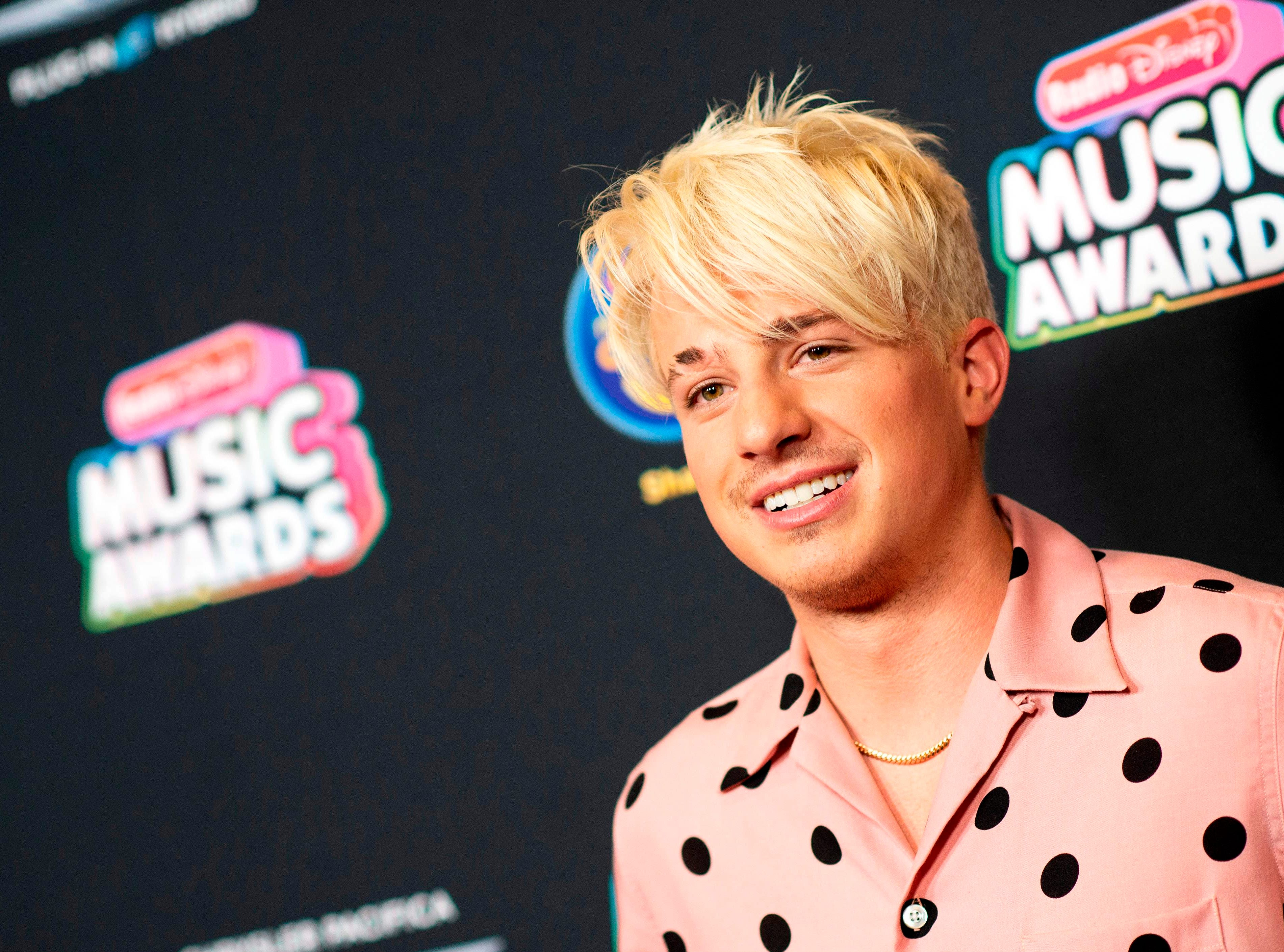 Singer/songwriter Charlie Puth attends the 2018 Radio Disney Music Awards at Loews Hollywood Hotel on June 12, 2018 in Hollywood, California. / AFP PHOTO / VALERIE MACONVALERIE MACON/AFP/Getty Images ORG XMIT: 2018 Radi ORIG FILE ID: AFP_16G584