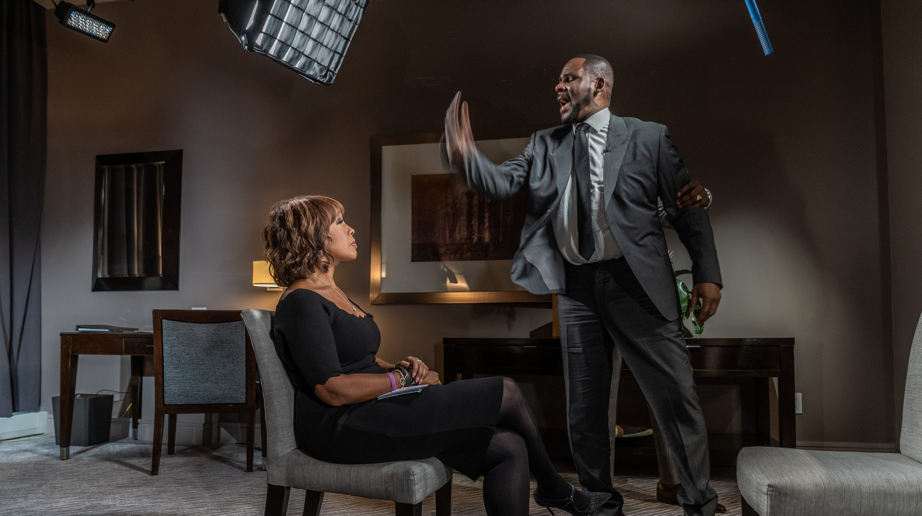 R  Kelly's interview with Gayle King helped him, publicist says