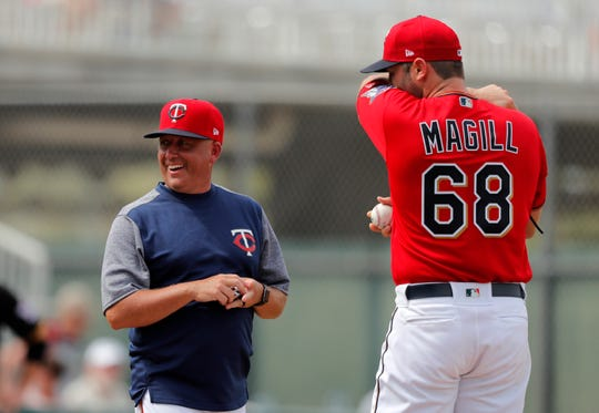 The Twins hired pitching coach Wes Johnson before the 2019 season.