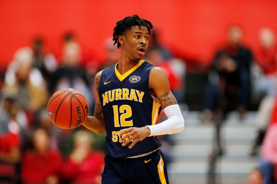 Murray State guard Ja Morant could wow viewers if he can carry the Racers to the NCAA tourney.