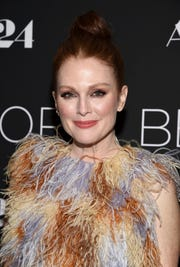 """Julianne Moore, 58, is best known for her roles in """"Boogie Nights,"""" """"Magnolia"""" and """"The Kids Are All Right."""" (Photo: EVAN AGOSTINI/INVISION/AP)"""