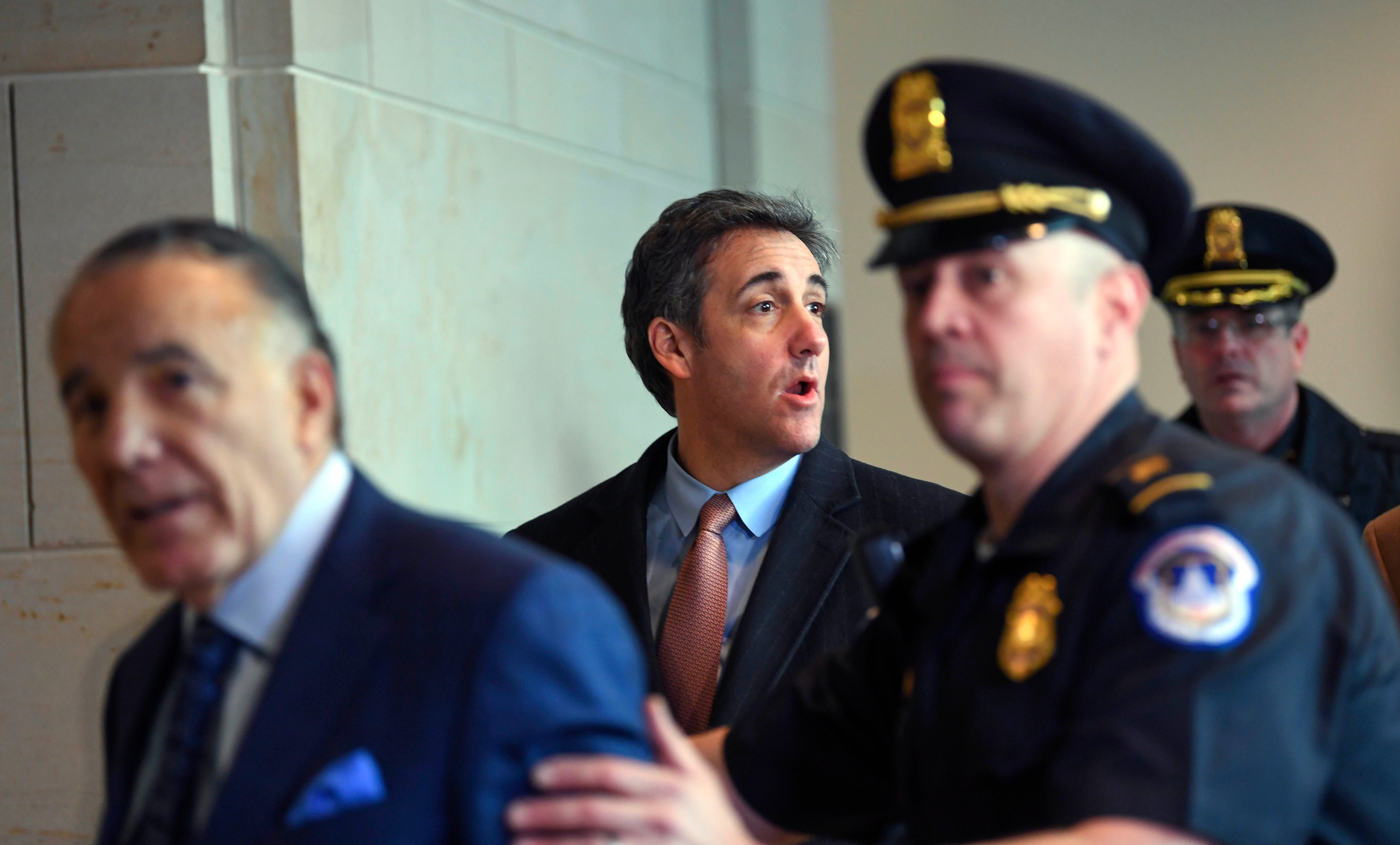 Michael Cohen sues Trump Organization for legal fees incurred after turning on Trump