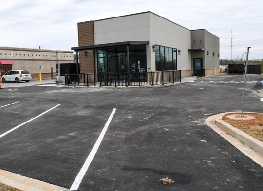 A new Starbucks store is coming soon to a space along Clemson Boulevard just above I-85 below Welpine Road in Anderson.