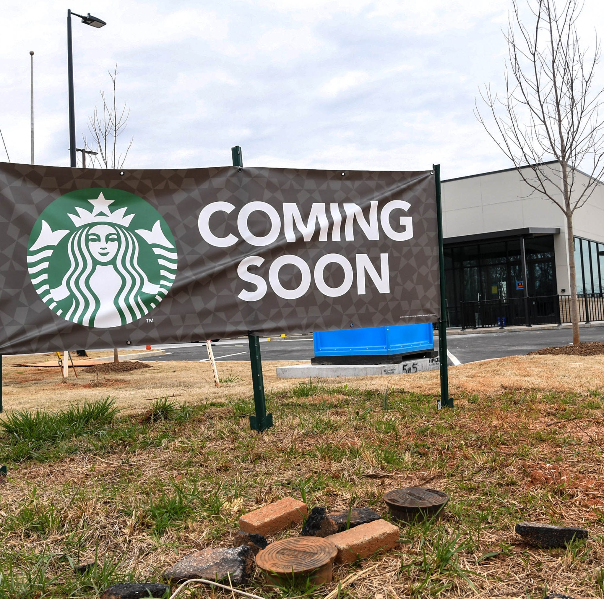 New Starbucks set to open in Anderson