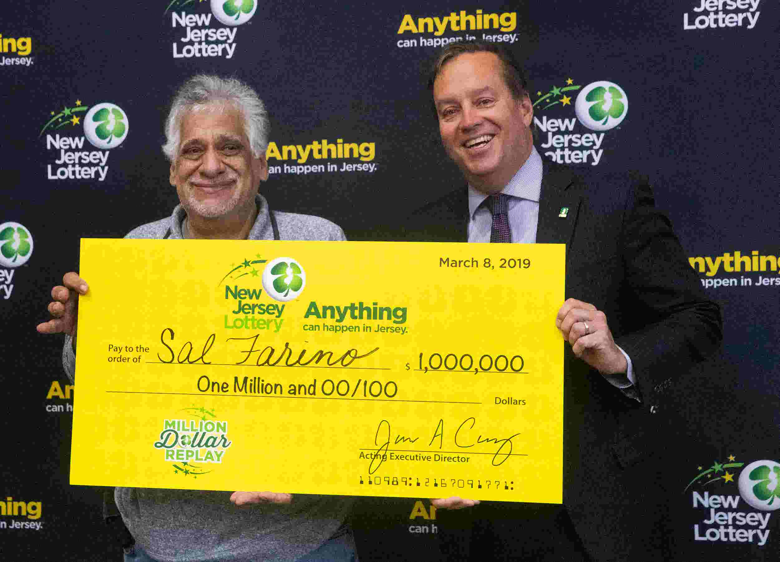Nj Lottery Picks Lucky 1 Million Winner In Asbury Park