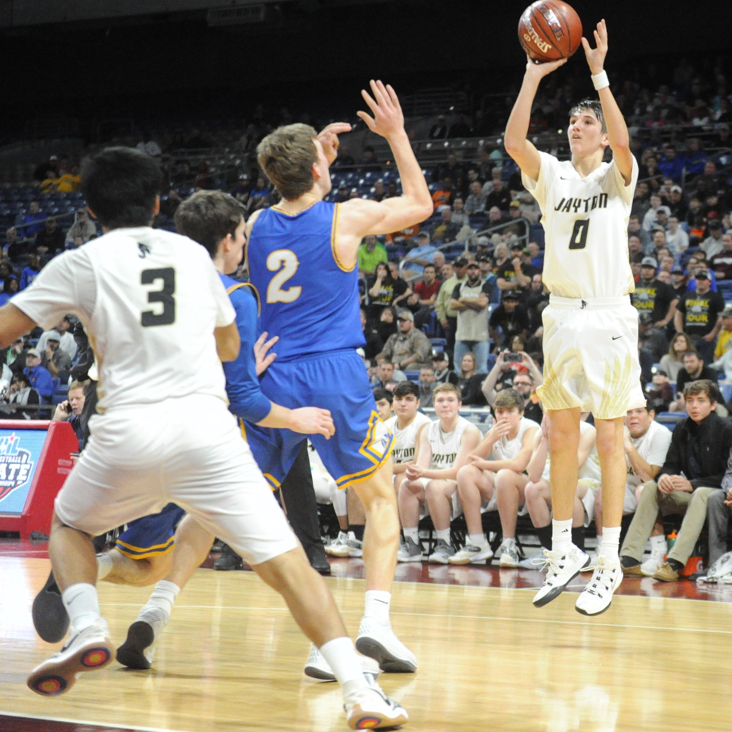Extended business trip: Jayton boys hoops focused on state final following wild win