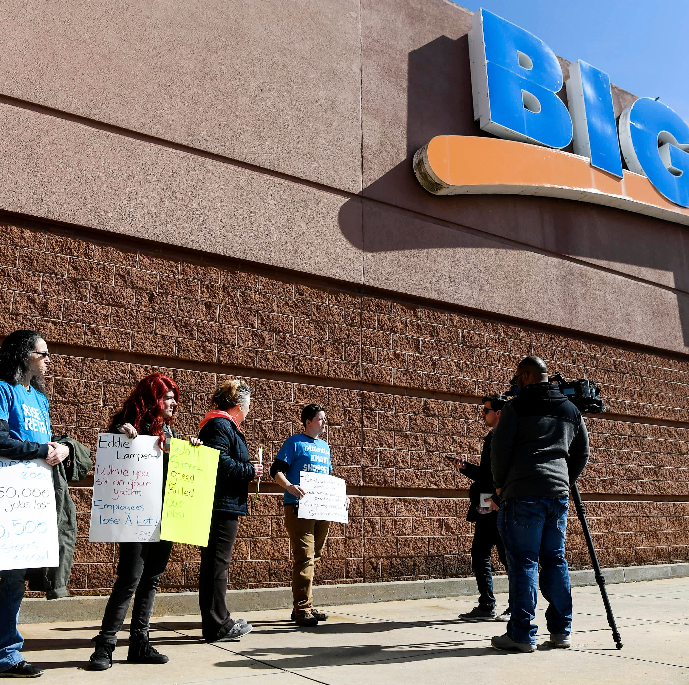 As Asheville Kmart nears final day, employees lambast corporate greed, call for 'justice'
