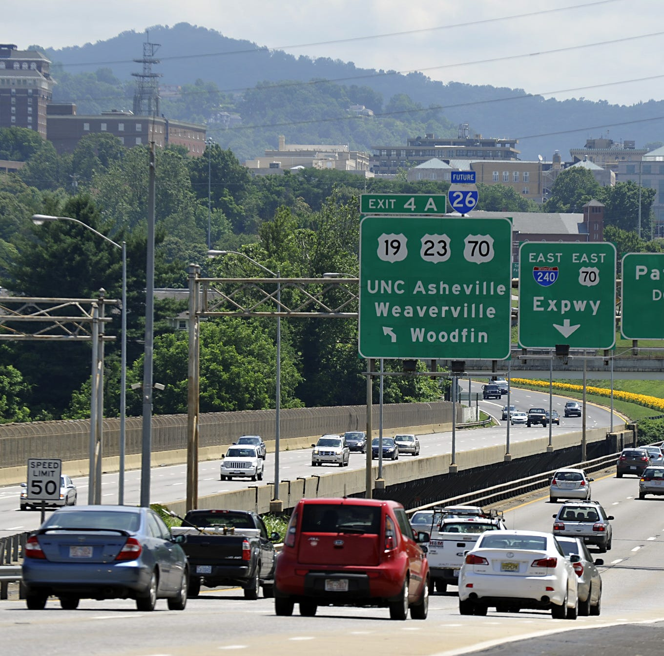 Does it really 'take an hour to get from Asheville to Asheville'?