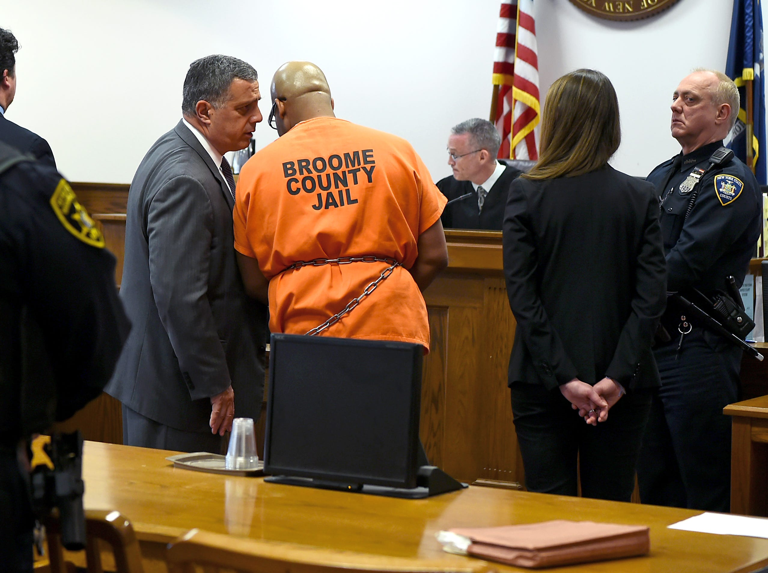Aaron Powell was sentenced to life in prison for the 2013 murders of Mario Masciarelli and Christina Powell. Powell brutally killed his estranged wife and Masciarelli in the Town of Binghamton after the Christina and Masciarelli while on their first date. March 8, 2018.