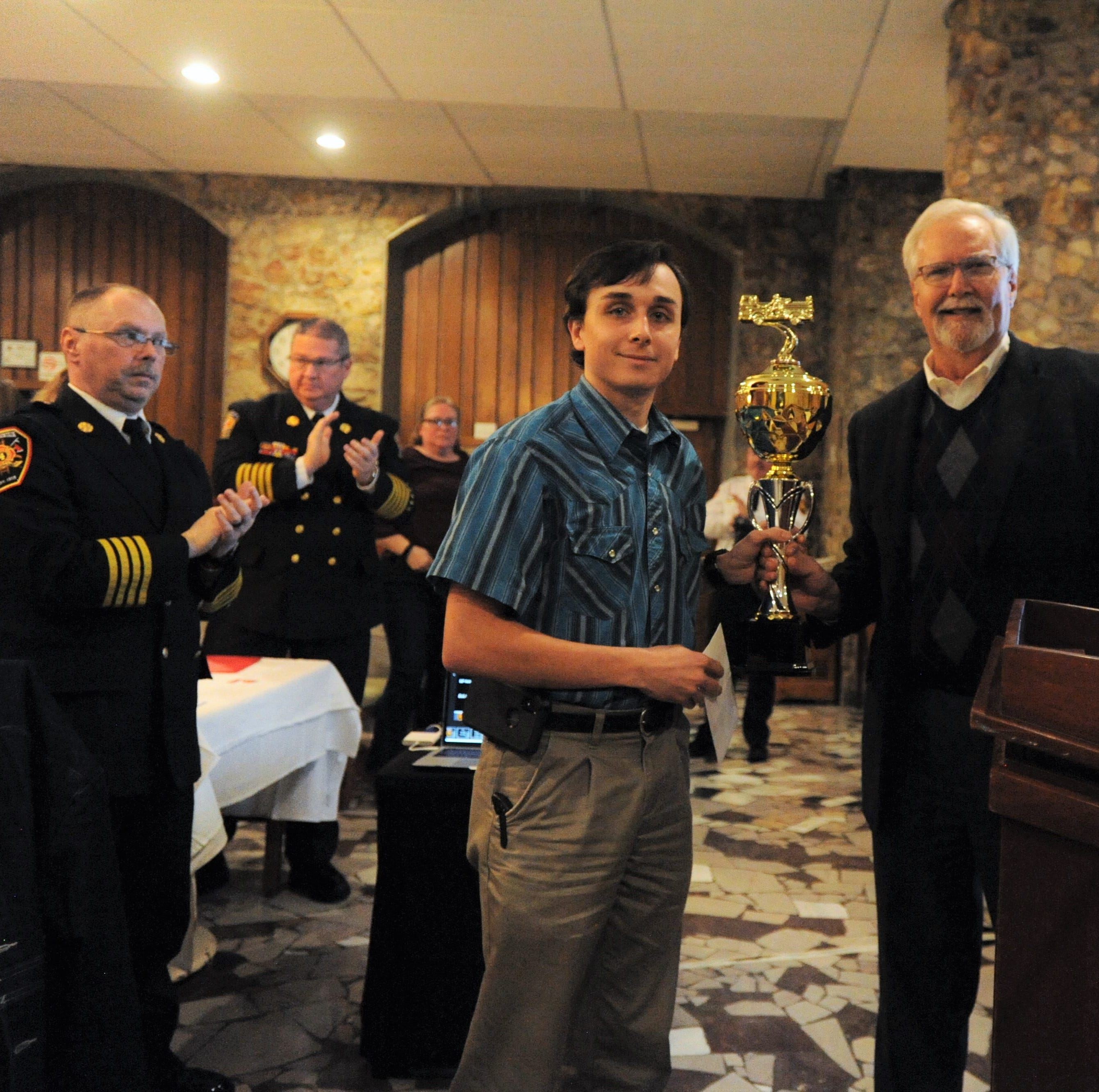 Black Mountain firefighters recognized at 100th annual banquet