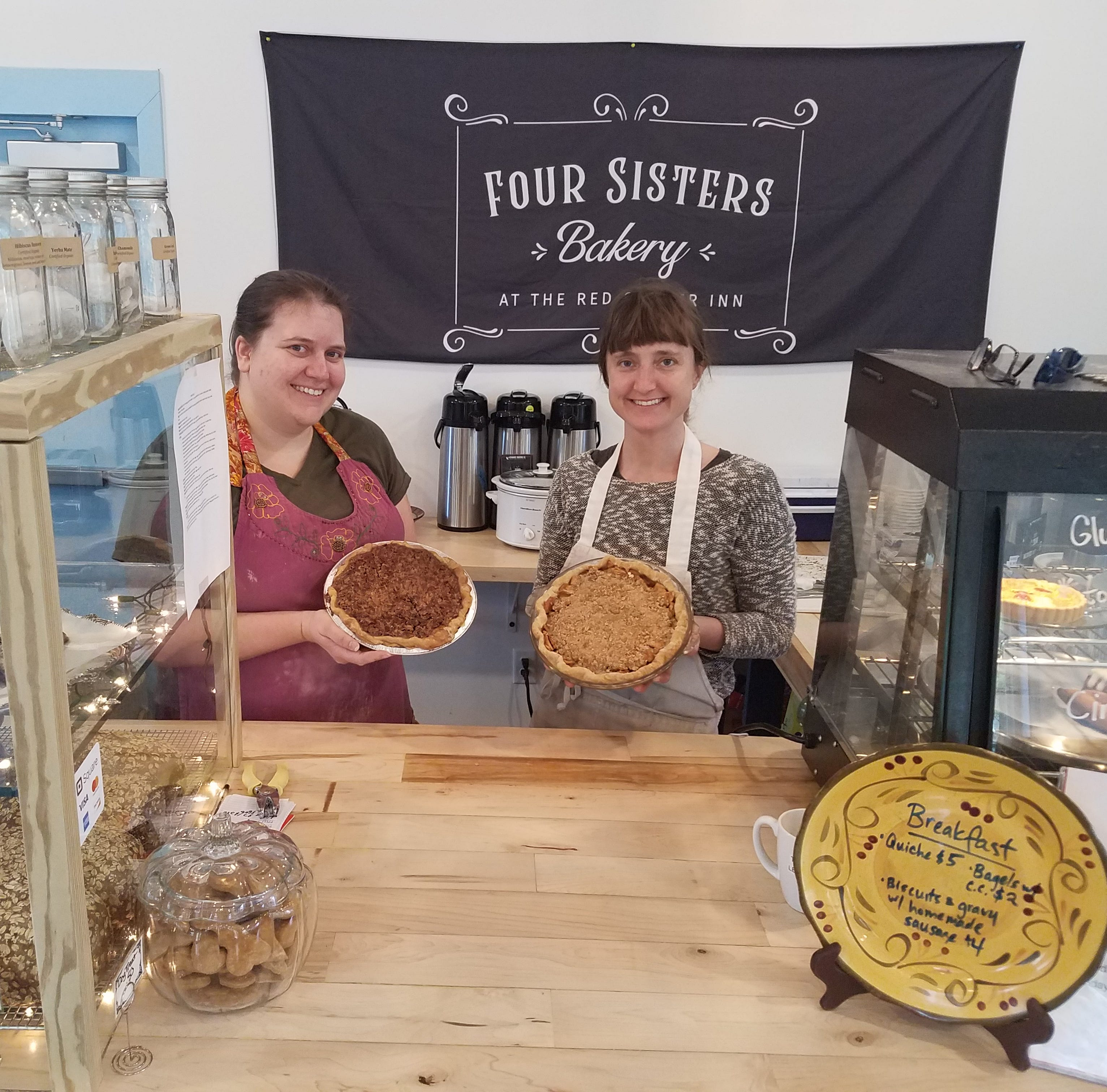 Four Sisters Bakery hosts Pi(e) Day celebration
