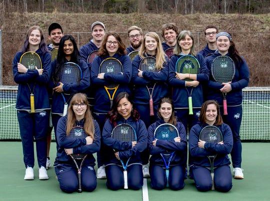 Warren Wilson College debuted men's and women's tennis teams this spring