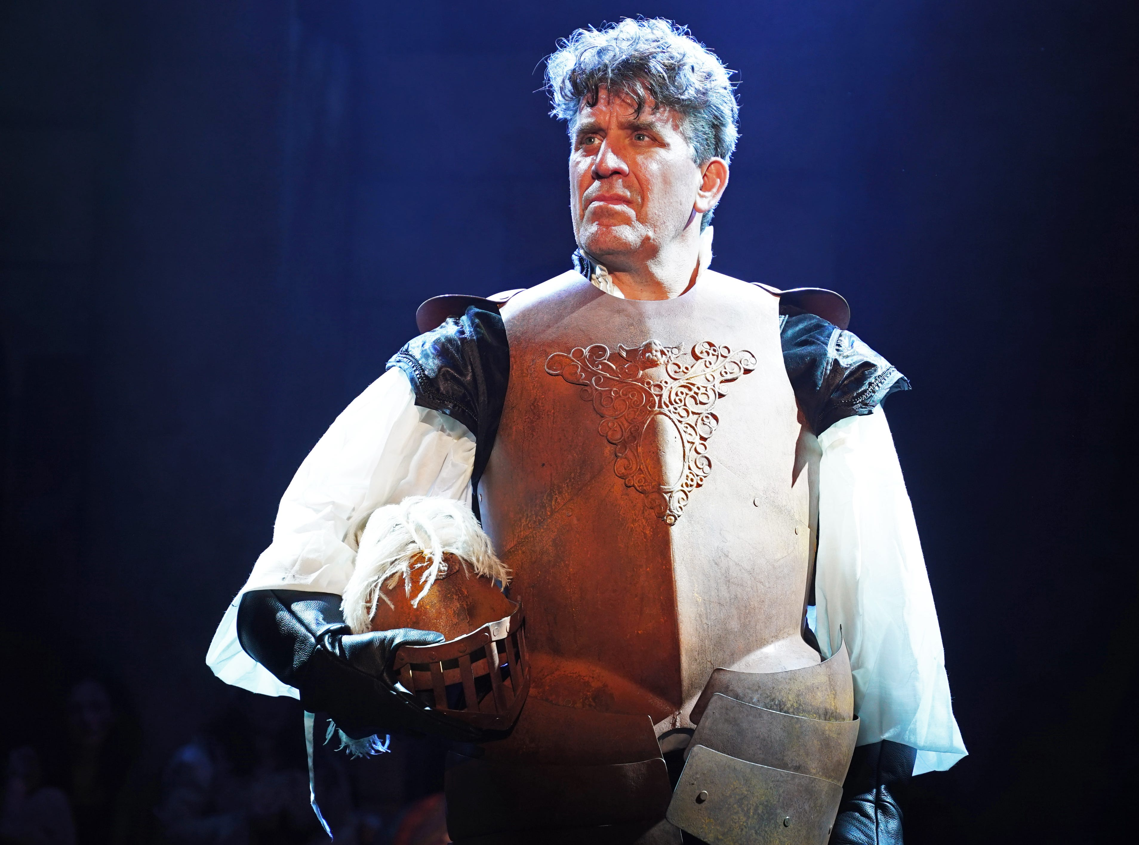 """Patrick Sullivan plays """"Don Quixote"""" in Titusville Playhouse's production of """"The Man of La Mancha."""" The show runs through March 17th. For tickets or more information, visit titusvilleplayhouse.com"""