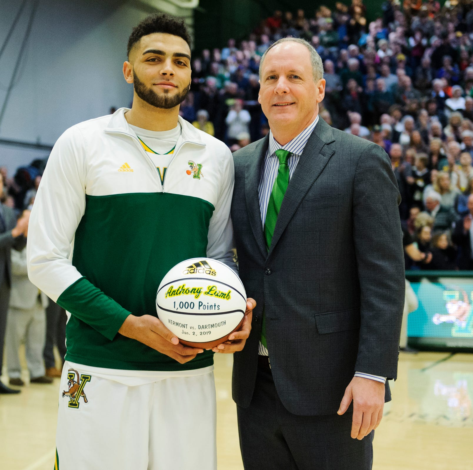 UVM basketball's Anthony Lamb named America East player of the year; Becker also honored