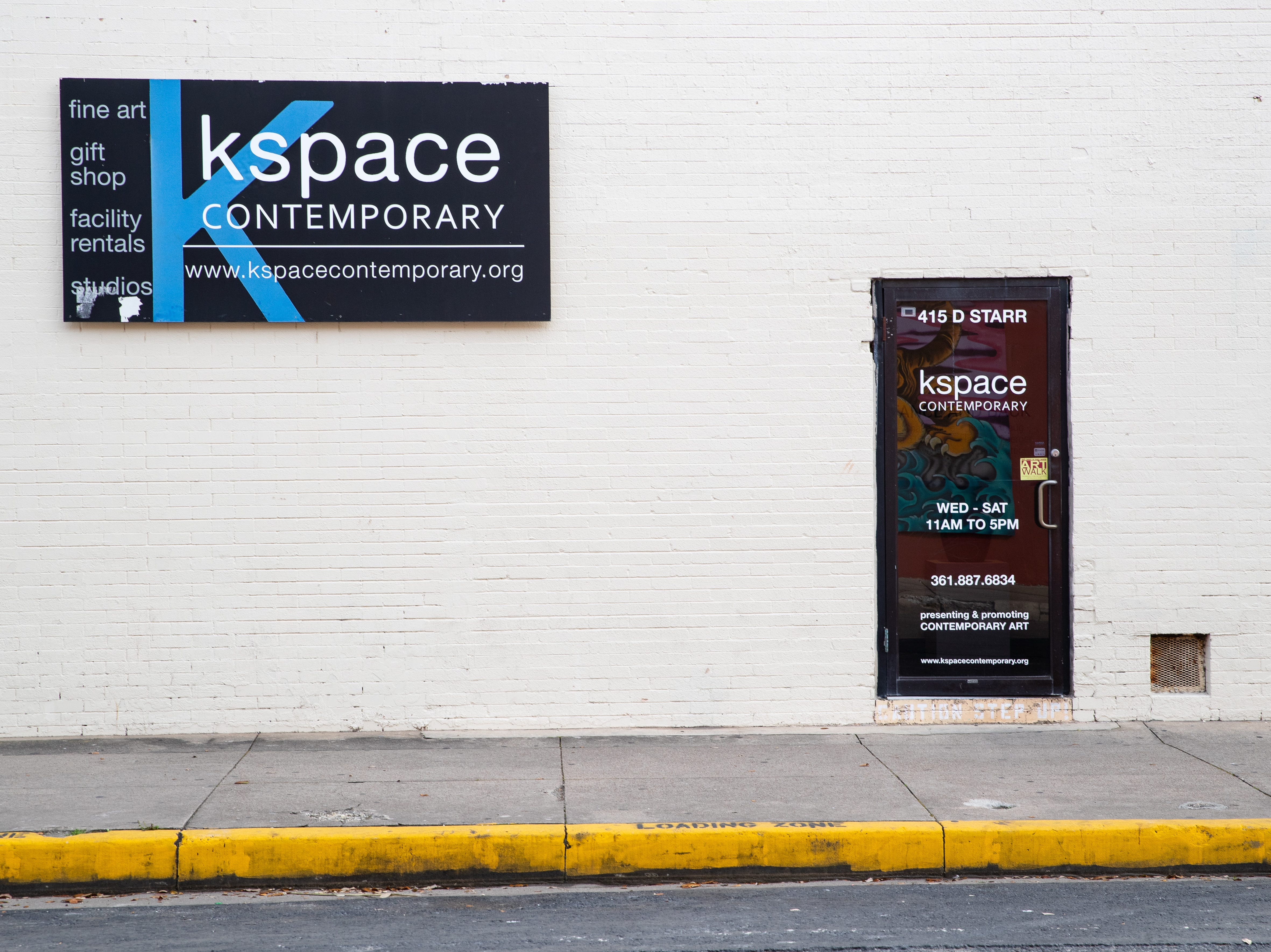 Kspace Contemporary's located at 415 Starr Street.