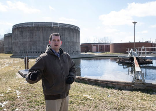 Director of Utilities David Fishel stands in front of Chillicothe's wastewater treatment plant and talks about how important maintaining the facility is for the community. The plant has not had a major overhaul in over 30 years.