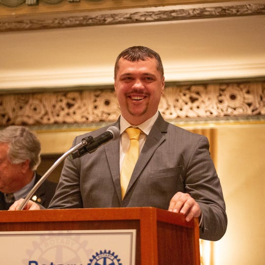 Tim Arnold is the recipient of the 2019 Jefferson Award for Public Service in Greater Cincinnati.