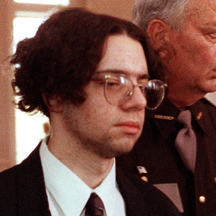 Clay Shrout killed his family and held his classmates hostage. Now he's up for parole.