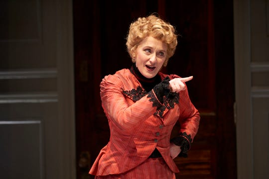 "Connan Morrissey stars as Nora in ""A Doll's House, Part 2."" The regional premiere production runs at the Ensemble Theatre Cincinnati through March 30."