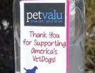 During March, Pet Valu will donate all proceeds from the sales of its $3 bottle of hand sanitizer to America's VetDogs, an organization that trains service dogs for veterans and first responders with disabilities and impairments.