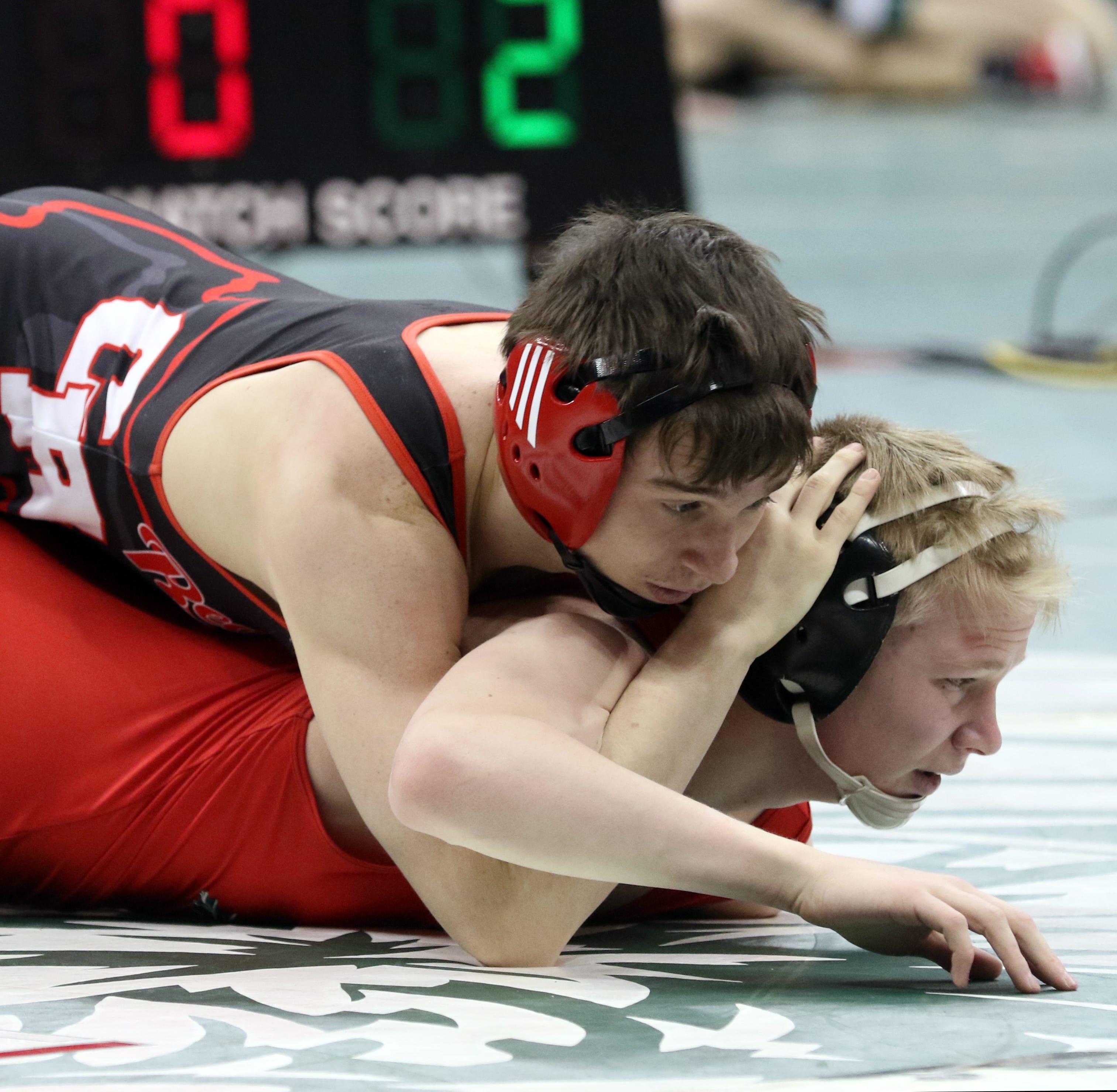 State Wrestling: Brink reaches finals, will wrestle Saturday night