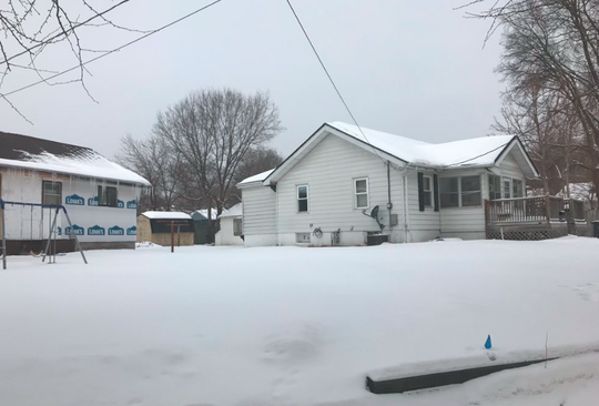 A home in the 1900 block of Glenbrook Drive where a passenger with a Council Bluffs homicide suspect was arrested Friday, March 8, 2019, in Des Moines.