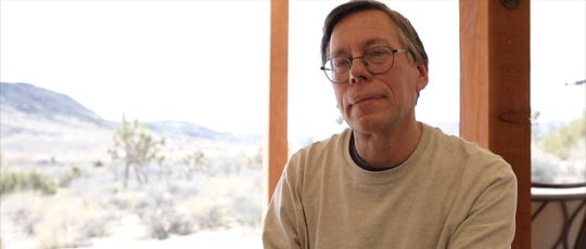 "A still from the documentary ""Bob Lazar: Area 51 & Flying Saucers,"" which will play at the 2019 Freep Film Festival/"