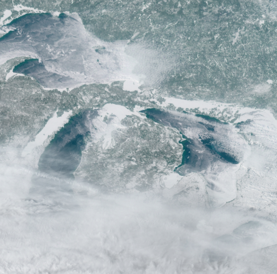 Cover-up: Lake Superior 90% ice-covered for just 5th time in past 20 years