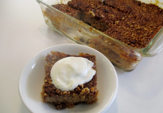 Oatmeal Cookie Baked Oatmeal/