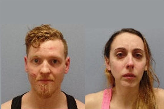 Kamden Mack, 25,  of Ann Arbor, and Taylor Coats, 22, of Hudson