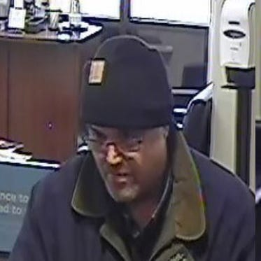 Chesterfield Twp., Shelby Twp. police seek bank robbery suspect