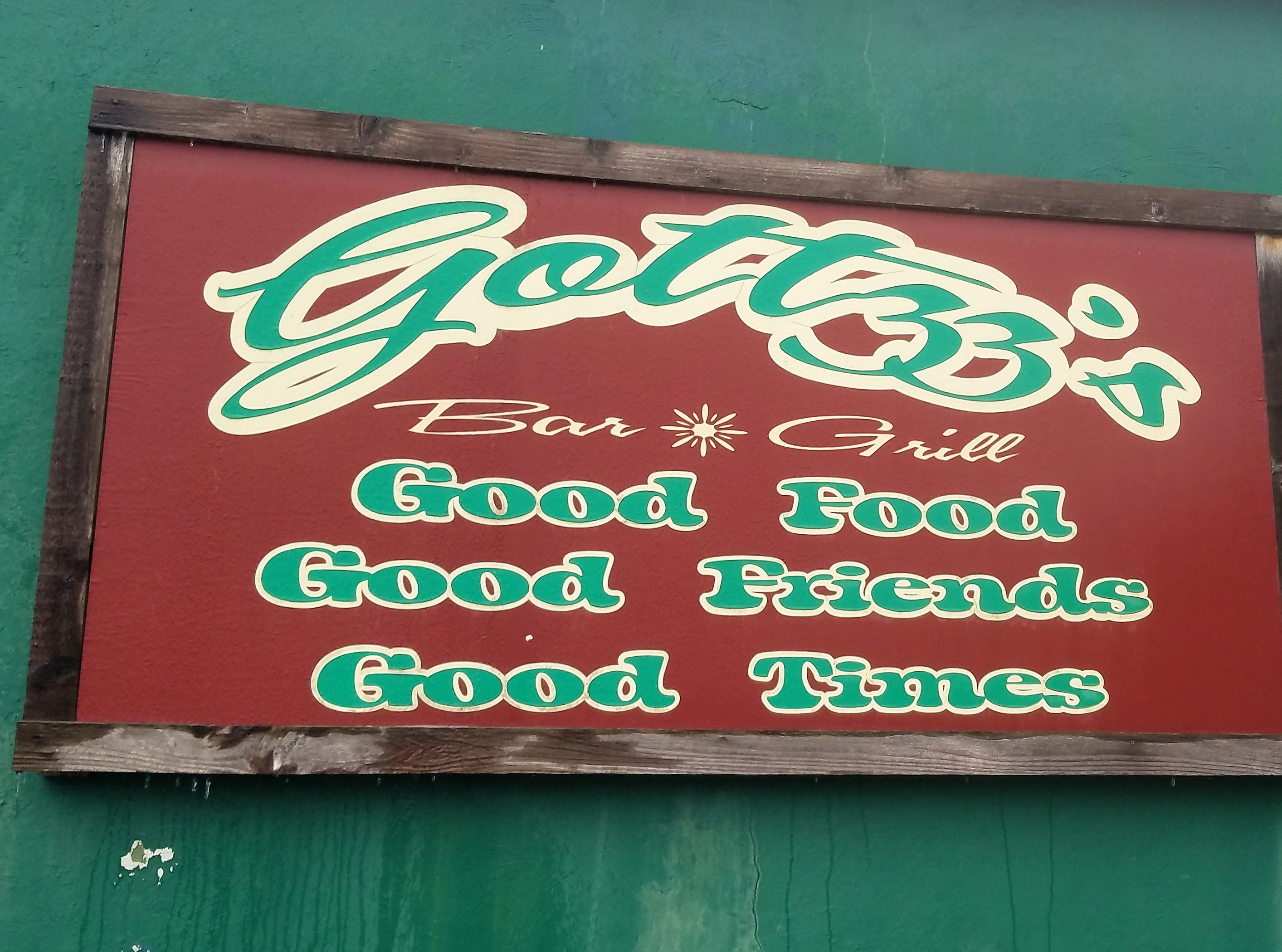 Gottzz's is located at 105 Cherry St. in Carmi.