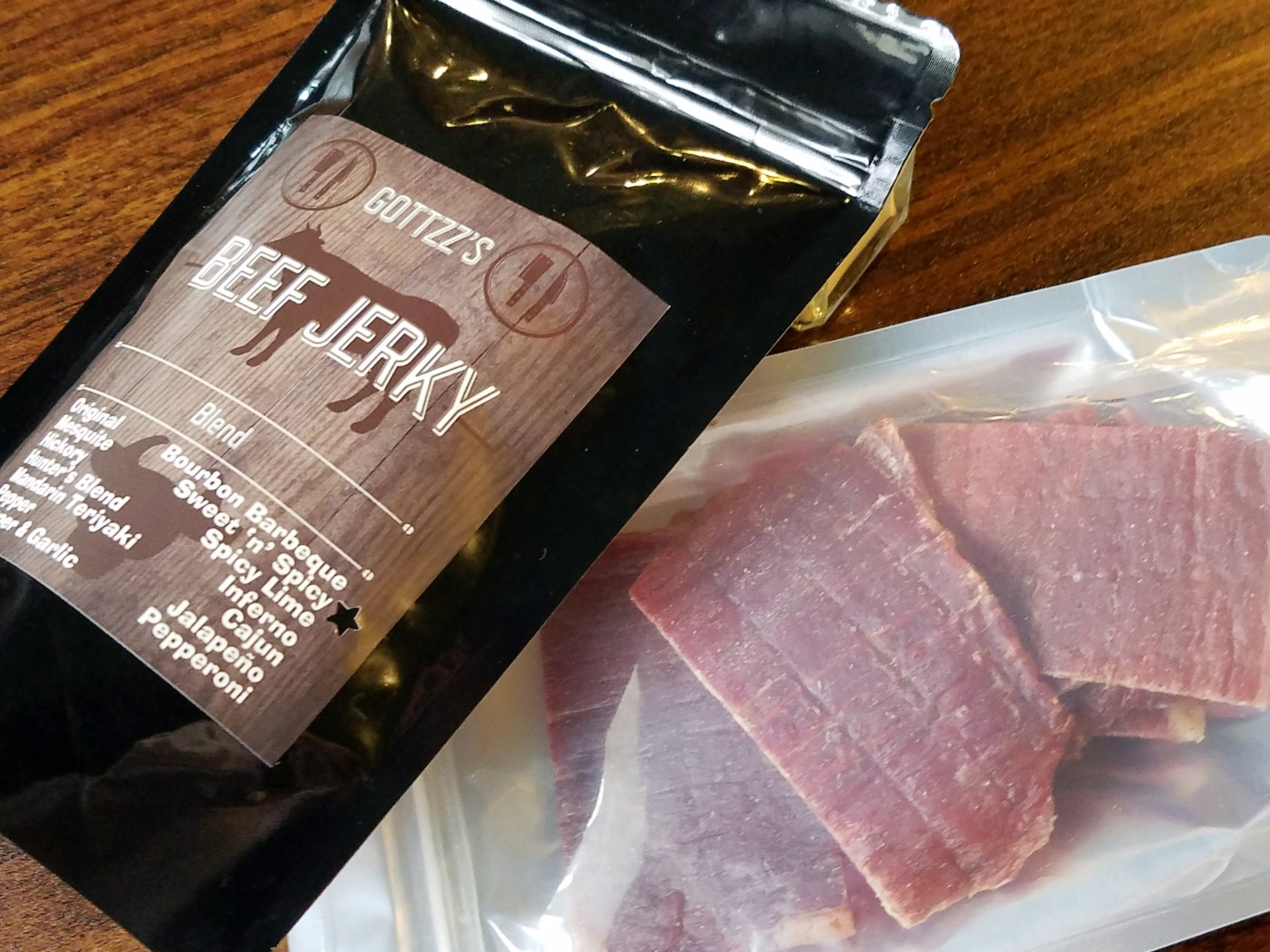 You may even leave with some of the house beef jerky to nibble on the way home from Gottzz's in Carmi.